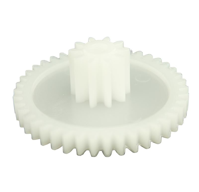 Engranaje de plástico Módulo 1.000, Dientes 42Z, Forma con piñon