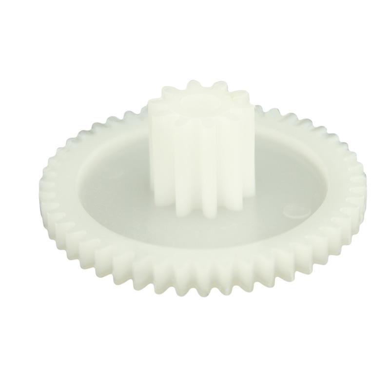 Engranaje de plástico Módulo 0.750, Dientes 48Z, Forma con piñon
