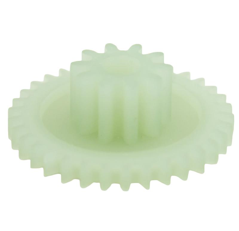 Engranaje de plástico Módulo 0.750, Dientes 34Z, Forma con piñon