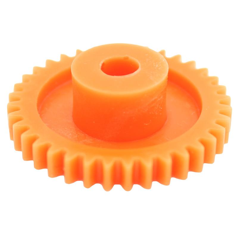 Engranaje de plástico Módulo 0.750, Dientes 36Z, Forma con bulon