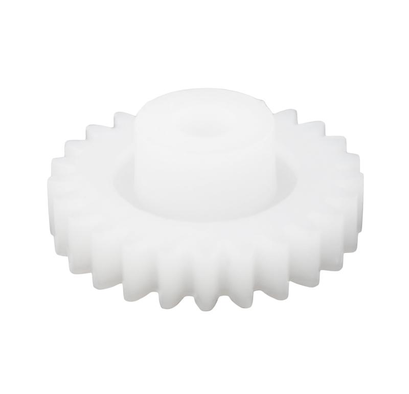 Engranaje de plástico Módulo 0.750, Dientes 25Z, Forma con bulon