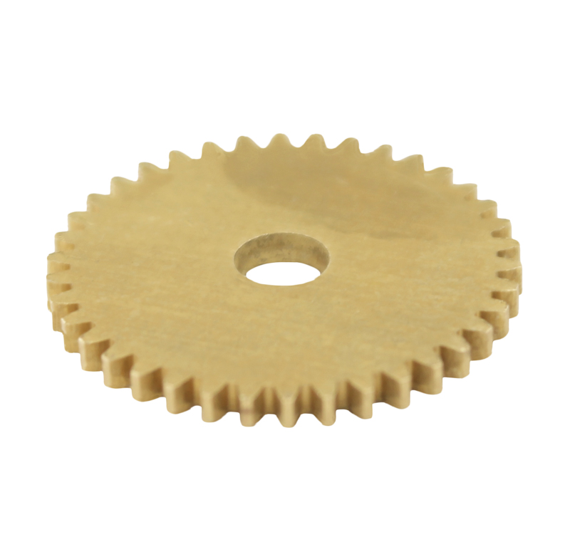 Engranaje de metal Módulo 0.500, Dientes 38Z, Forma