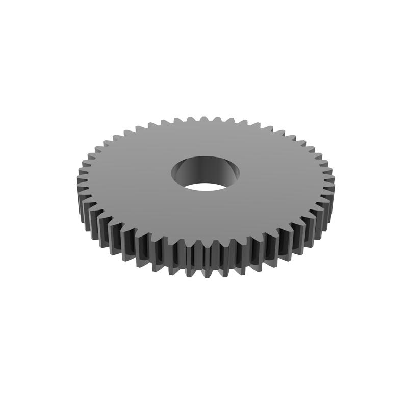 Engranaje de metal Módulo 0.750, Dientes 50Z, Forma recto
