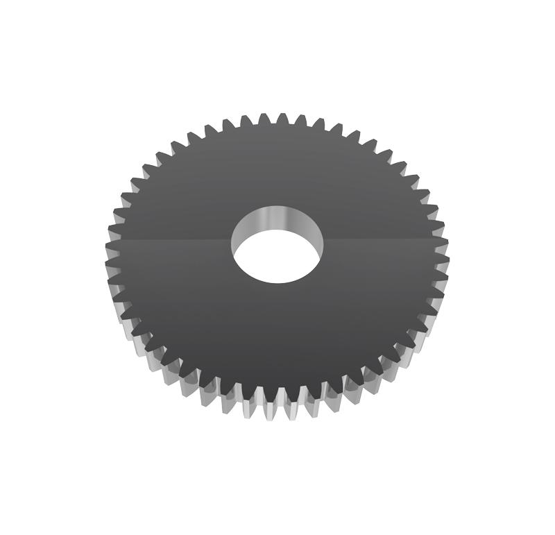 Engranaje de metal Módulo 0.750, Dientes 50Z, Forma