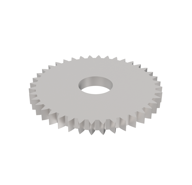 Engranaje de metal Módulo 0.400, Dientes 40Z, Forma recto