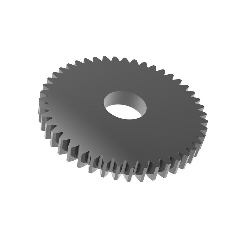 Engranaje de metal Módulo 0.500, Dientes 45Z, Forma recto