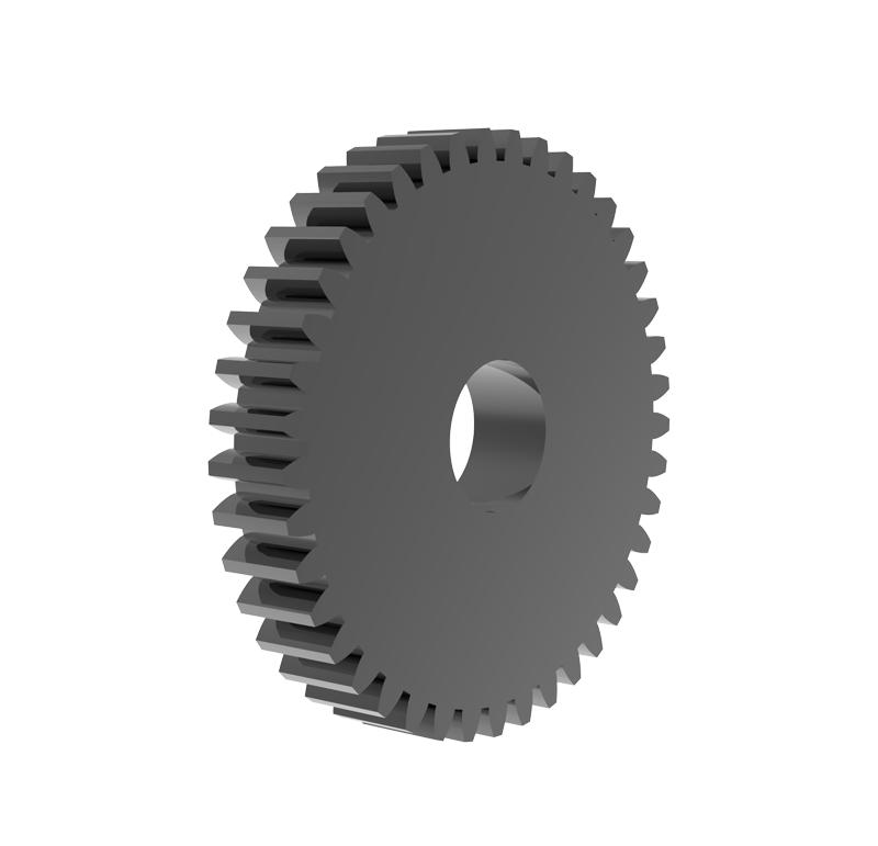 Engranaje de metal Módulo 0.750, Dientes 41Z, Forma