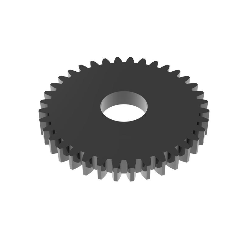Engranaje de metal Módulo 0.750, Dientes 36Z, Forma