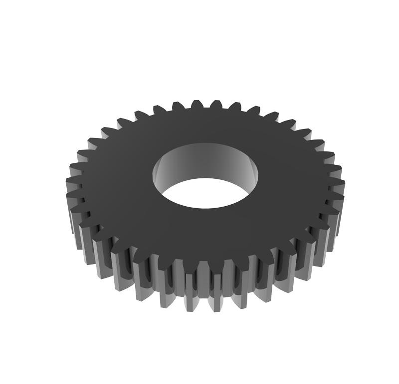 Engranaje de metal Módulo 0.750, Dientes 36Z, Forma recto