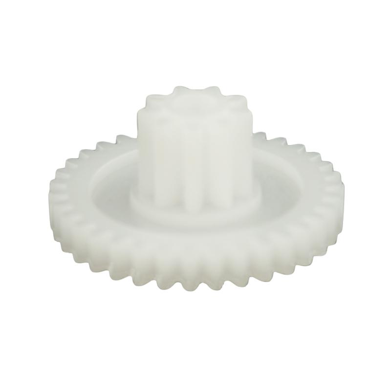 Engranaje de plástico Módulo 0.600, Dientes 35Z, Forma con piñon