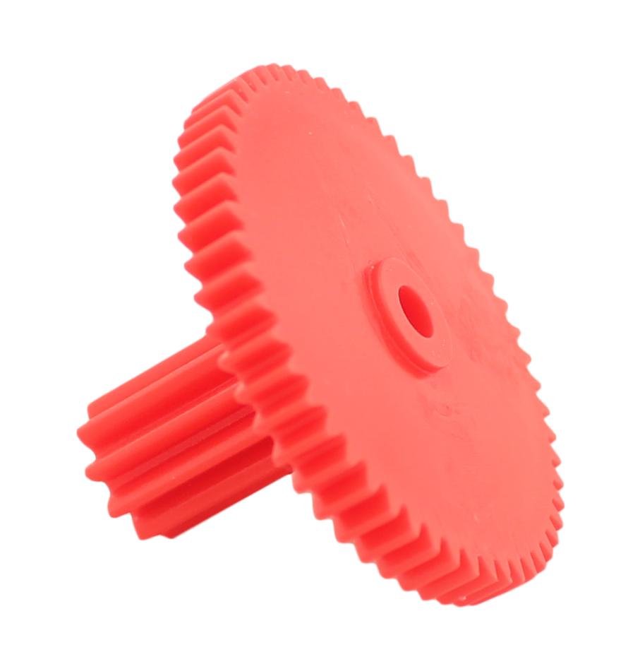 Engranaje de plástico Módulo 0.750, Dientes 54Z, Forma con piñon
