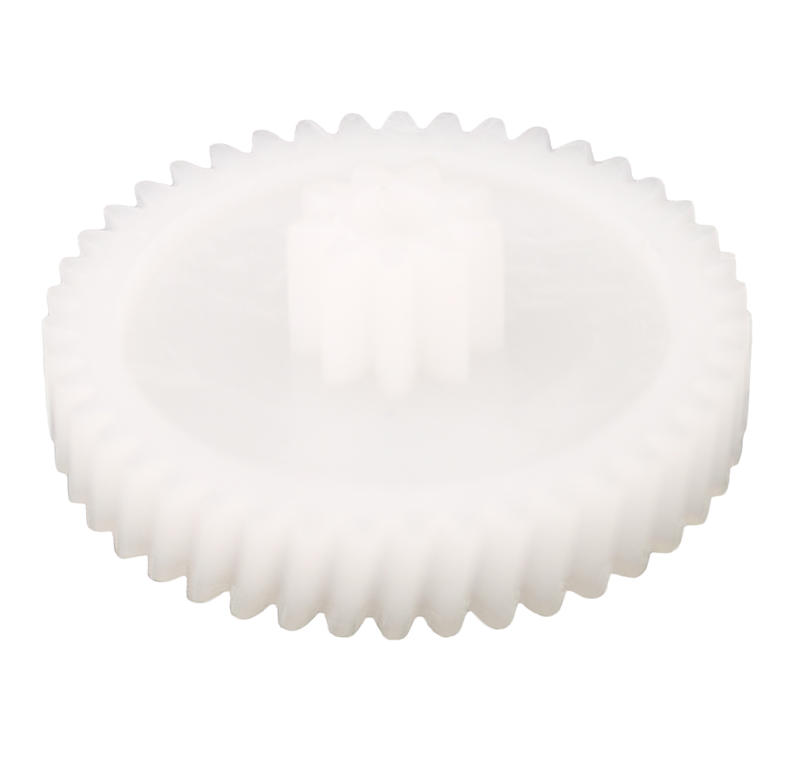 Engranaje de plástico Módulo 0.500, Dientes 43Z, Forma helicoidal
