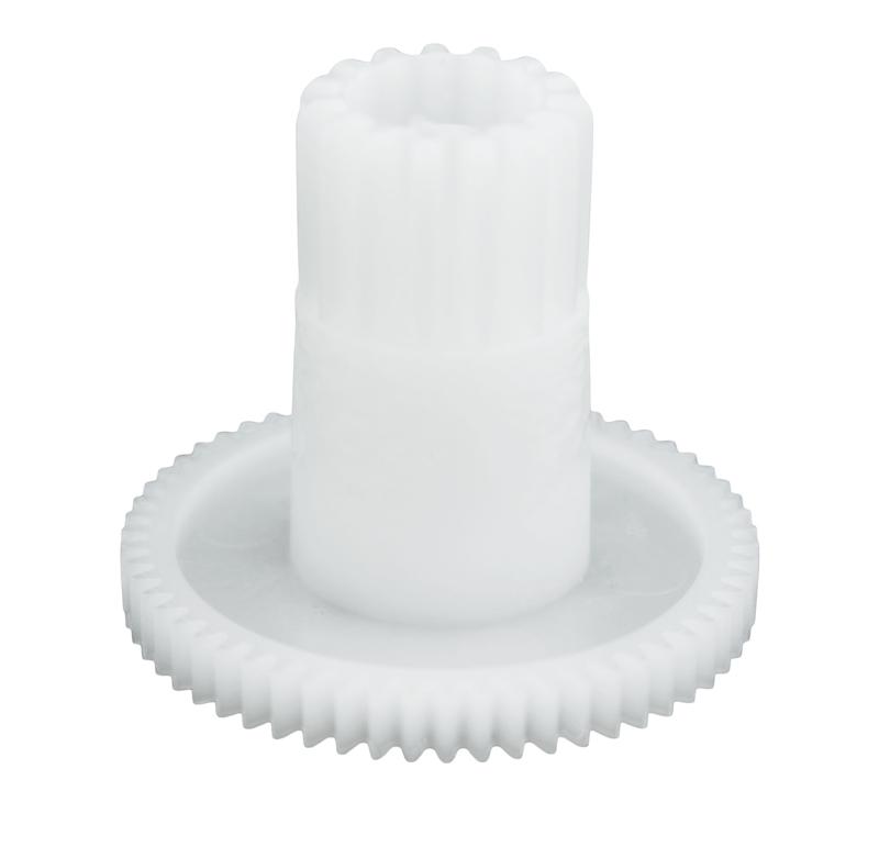 Engranaje de plástico Módulo 0.500, Dientes 59Z, Forma con piñon
