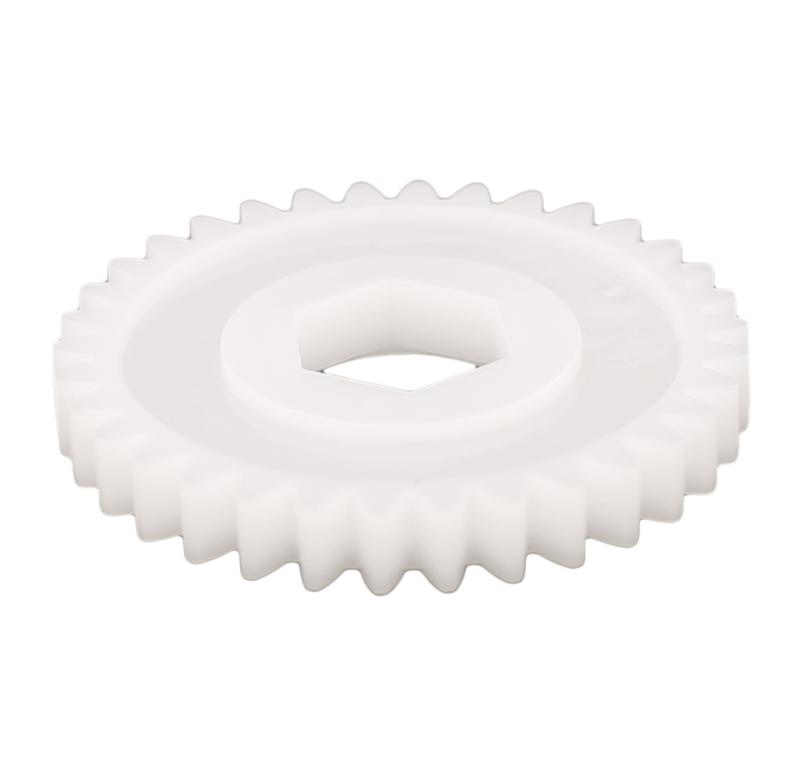 Engranaje de plástico Módulo 1.000, Dientes 34Z, Forma