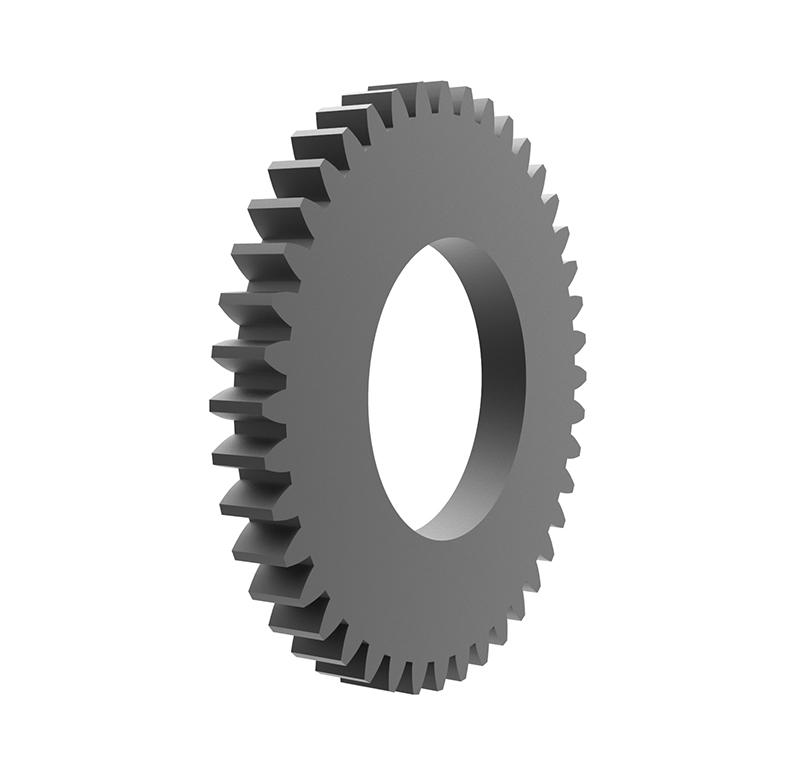 Engranaje de metal Módulo 0.50, Dientes 42Z, Forma recto