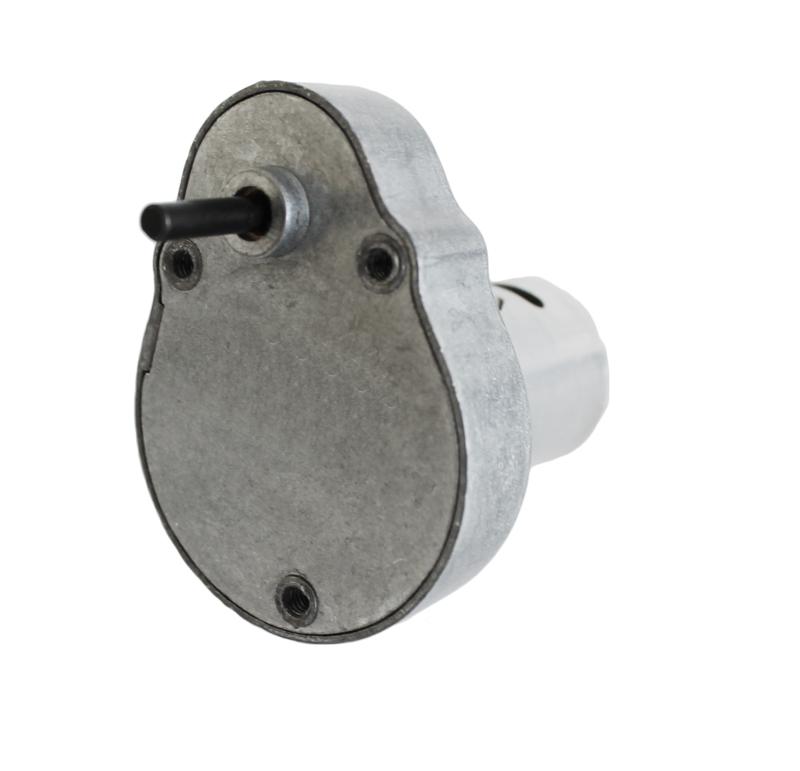Reductor engranaje recto. Eje de salida de acero. Rodamiento a la salida: casquillo sinterizado. Máxima carga radial a 5 mm de la brida: 10 N. Máxima carga axial admisible: 20 N. Material engranajes: Acero. Rodadura de engranajes sobre ejes de acero templados y rectificados. Carcasa: Zamak. Par de utilización hasta 0,5 N•m. Fijación mediante 3 tornillos M4. Número de etapas: 4 Reducción: 750:1  PLAZO DE ENTREGA MÁXIMO: 2/3 semanas.Se confirmará a la recepción del pedido.