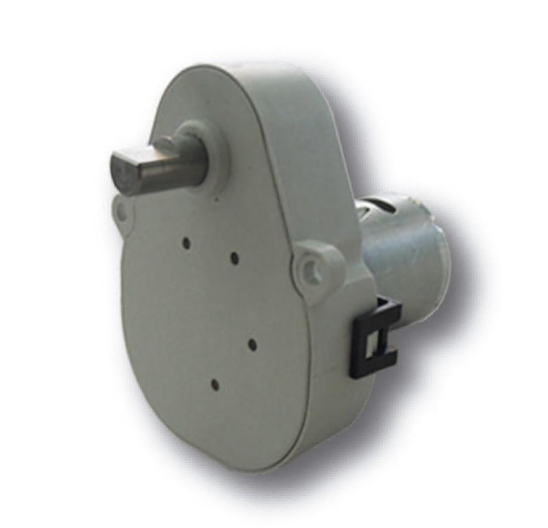 Reductor engranaje recto. Eje de salida de acero. Rodamiento a la salida: casquillo de plástico. Máxima carga radial a 5 mm de la brida: 10 N. Máxima carga axial admisible: 20 N. Material engranajes: Pom, latón y acero. Rodadura de engranajes sobre ejes de acero templados y rectificados. Caja y tapa: Poliamida + 30% G.F. Par de utilización hasta 1,5 N•m.  PLAZO DE ENTREGA MÁXIMO: 2/3 semanas.Se confirmará a la recepción del pedido.  Los datos marcados en rojo exceden el par máximo de utilización.