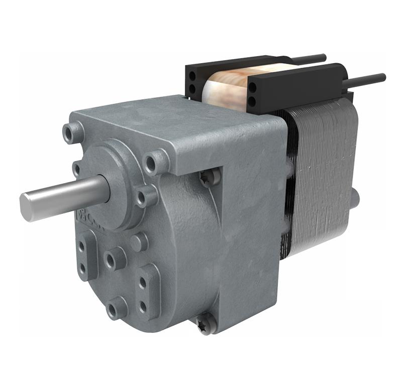 Motorreductor AC 230V 4rpm con ventilador