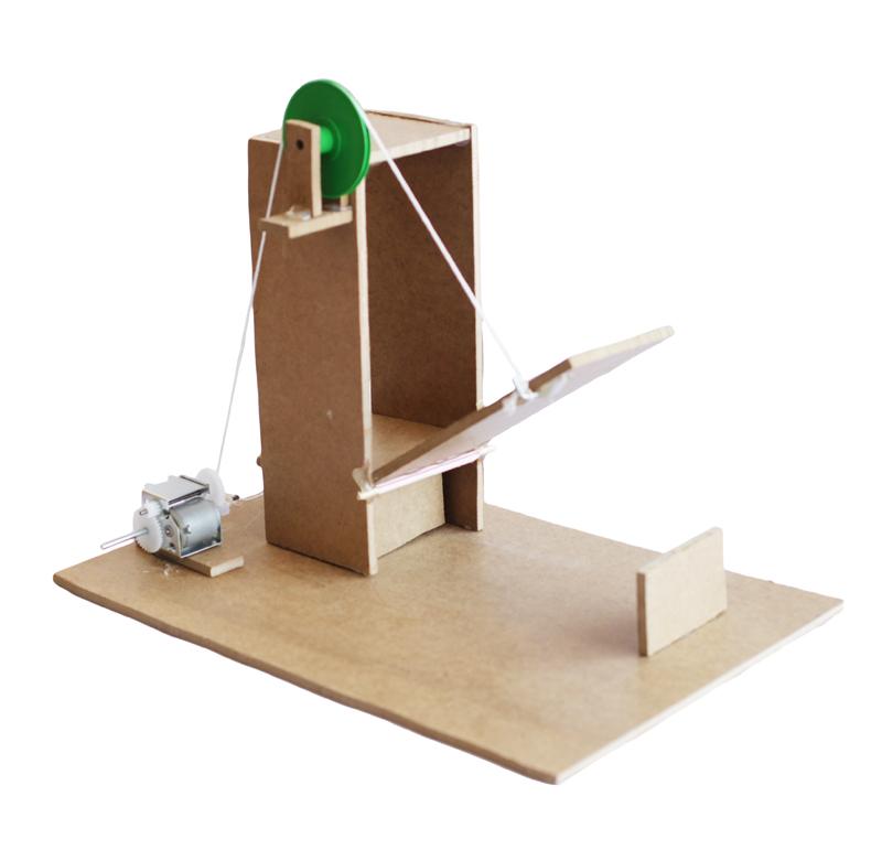 Kit para crear un puente levadizo compuesto de:  -Reductor -Polea -Eje -Portapilas plástico   Aprende paso a paso a realizar este puente levadizocon este video tutorial.