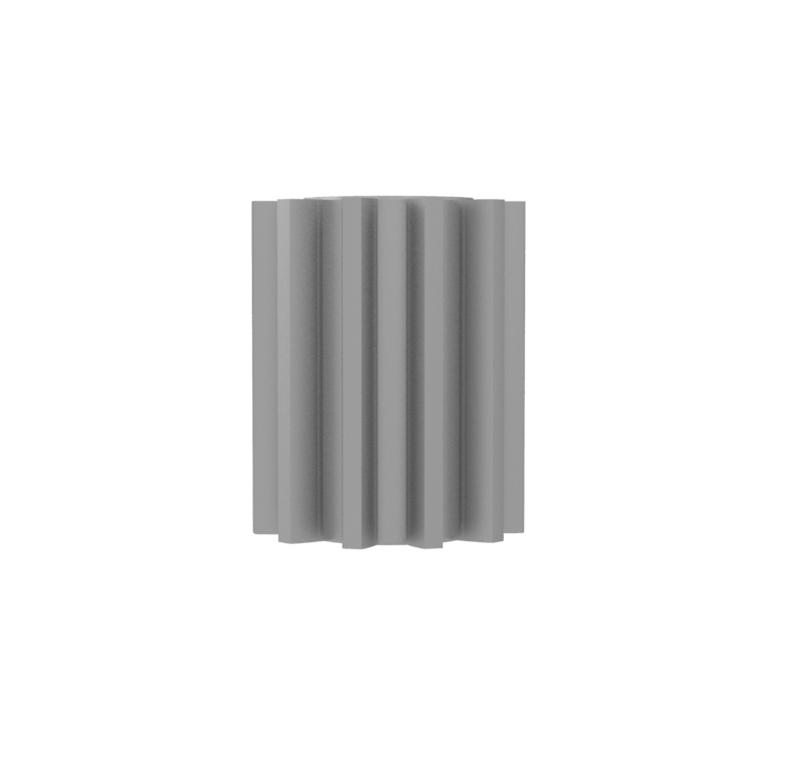 Piñón de metal Módulo 1.750, Dientes 11Z, Forma
