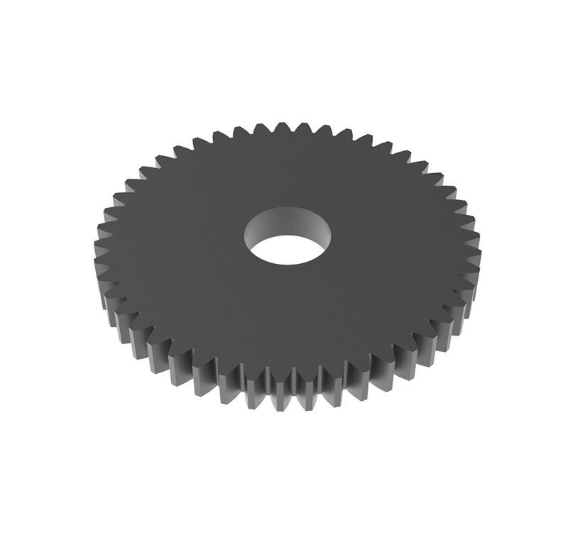 Engranaje de metal Módulo 0.500, Dientes 47Z, Forma