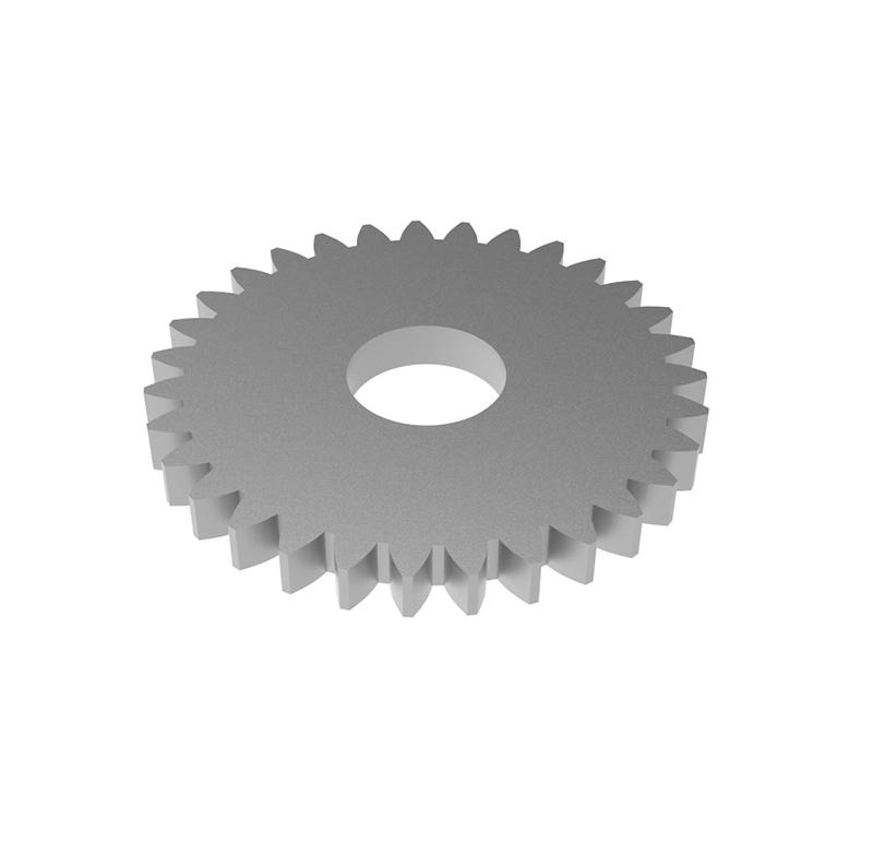 Engranaje de metal Módulo 0.500, Dientes 31Z, Forma