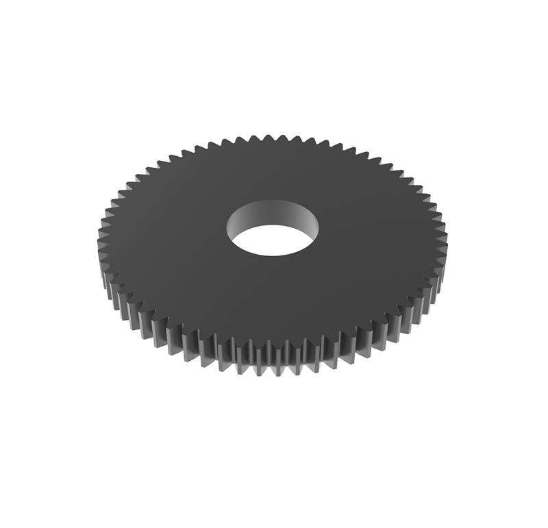Engranaje de metal Módulo 0.400, Dientes 64Z, Forma
