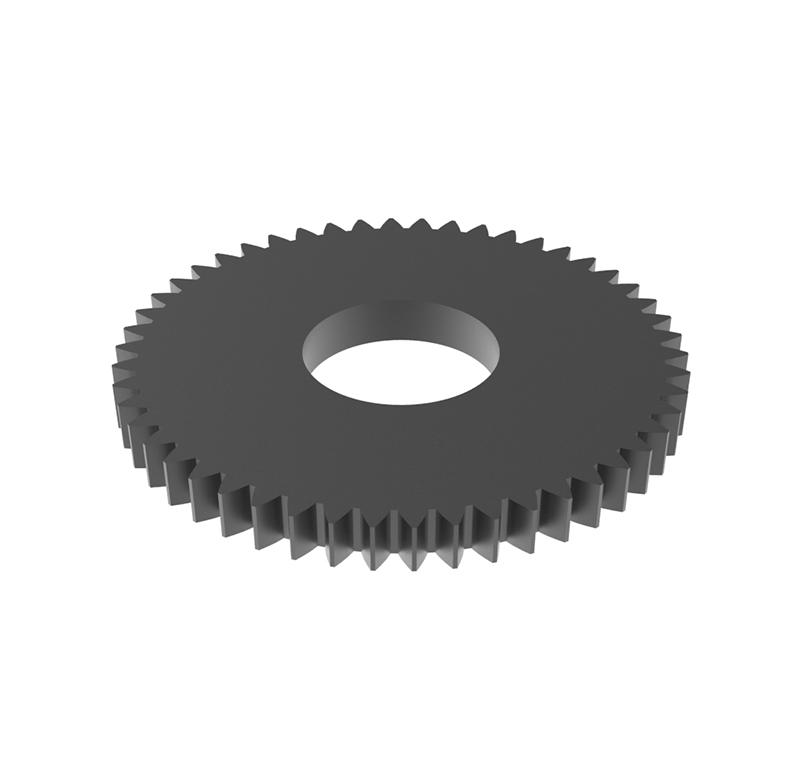 Engranaje de metal Módulo 0.50, Dientes 50, Forma recto