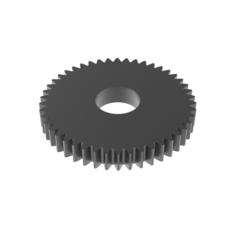 Engranaje de metal Módulo 0.600, Dientes 46Z, Forma