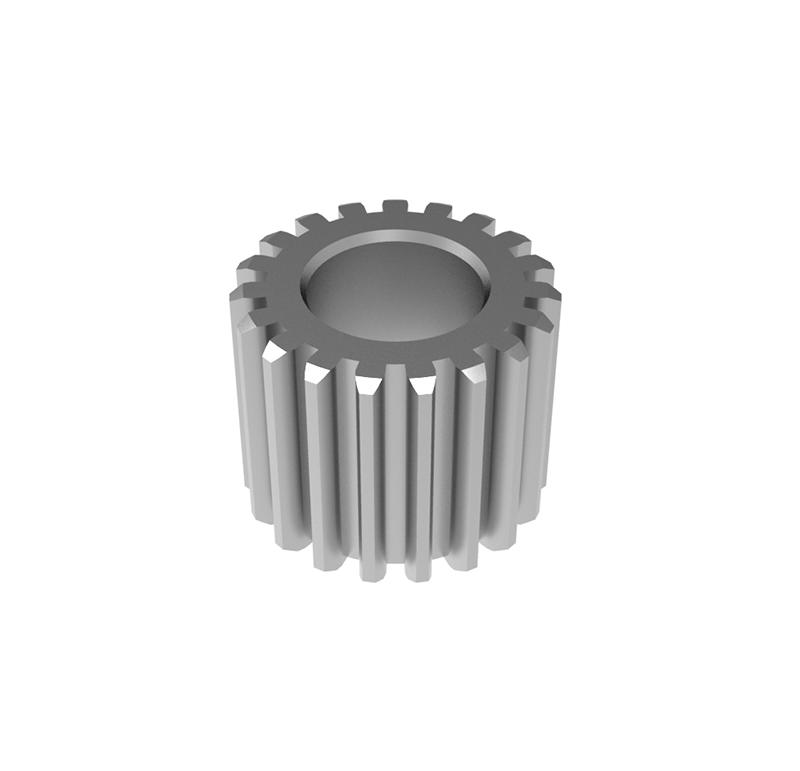 Engranaje de metal Módulo 0.45, Dientes 19Z, Forma recto