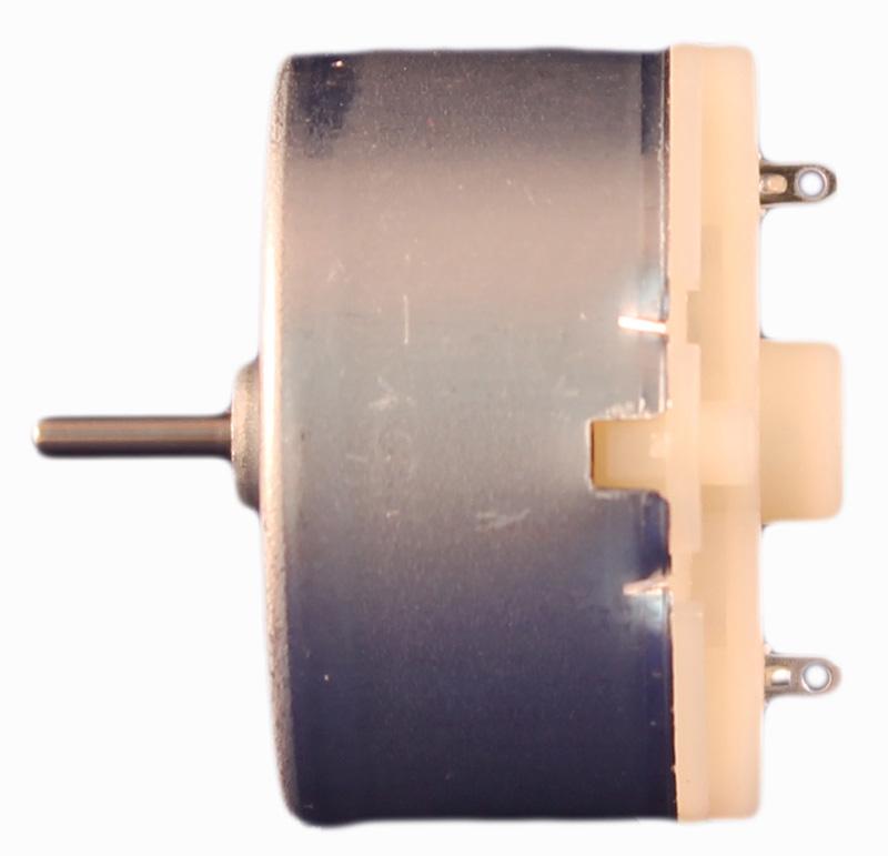 Motor Corriente DC, Voltaje 1.50V, R.P.M. 3500rpm