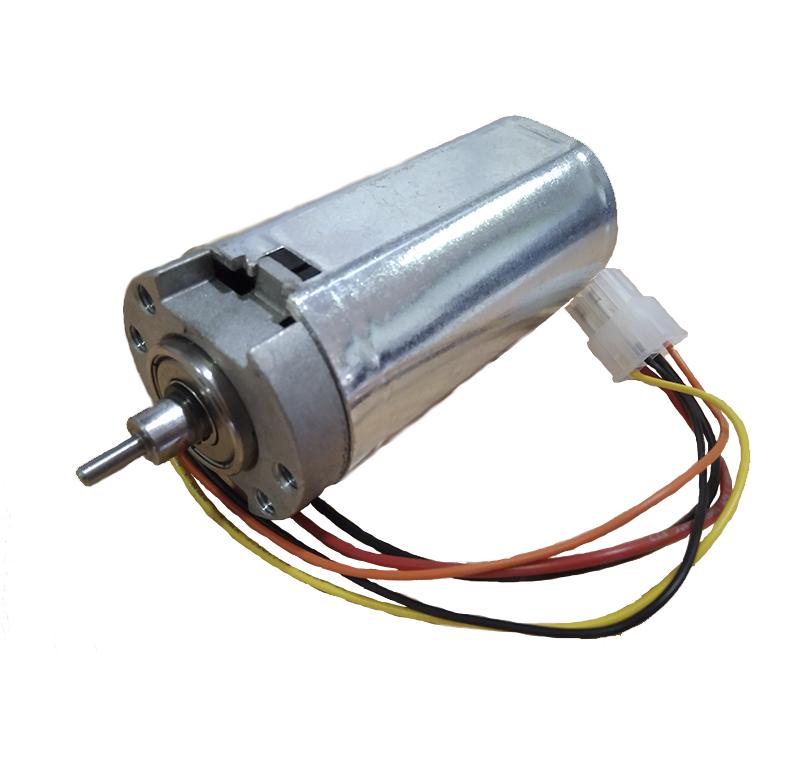 Motor Corriente DC, Voltaje 24.00V, R.P.M. 3000.00rpm