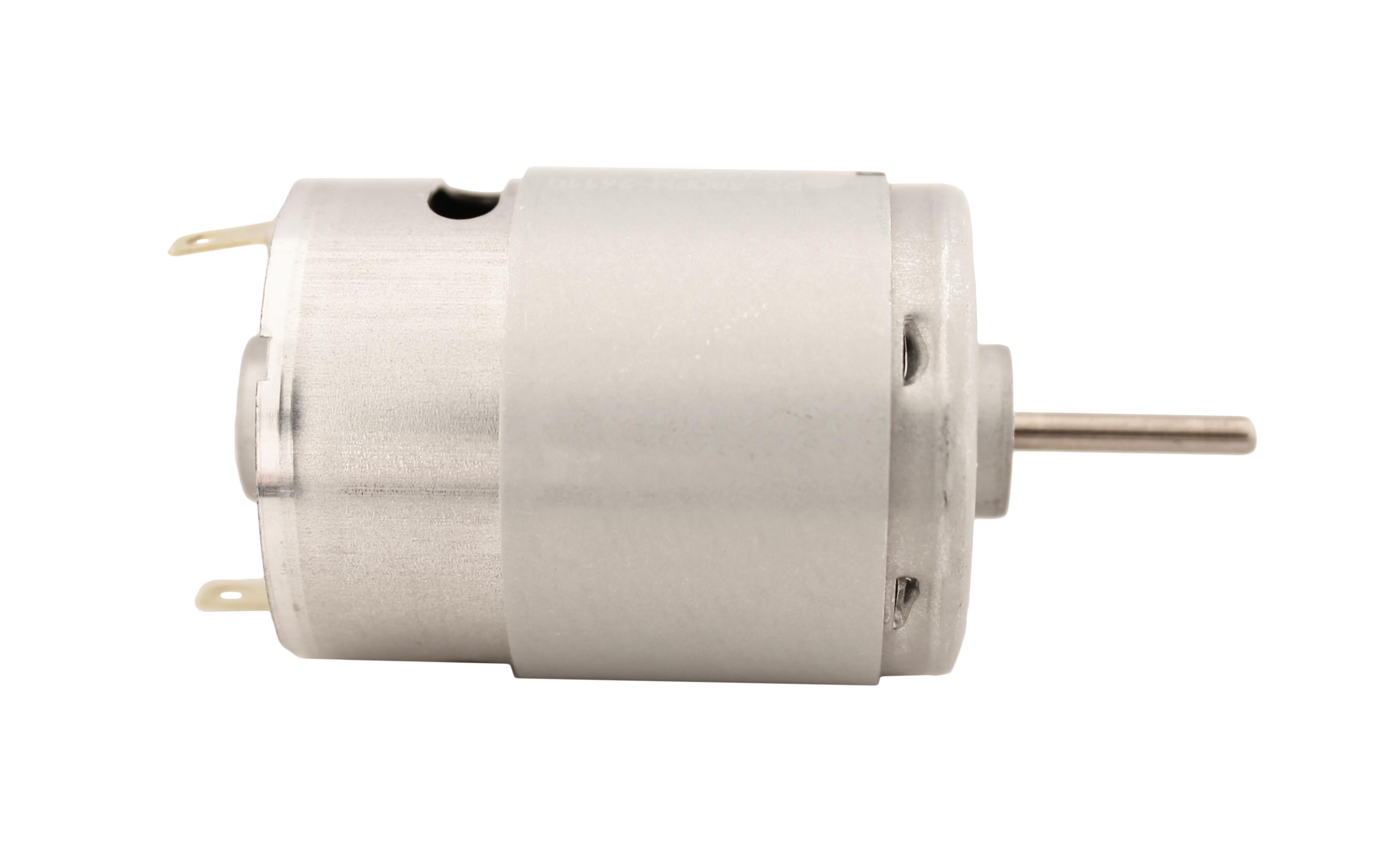 Motor Corriente DC, Voltaje 6.00V, R.P.M. 4800rpm - RS-380 PH 26110 DV.