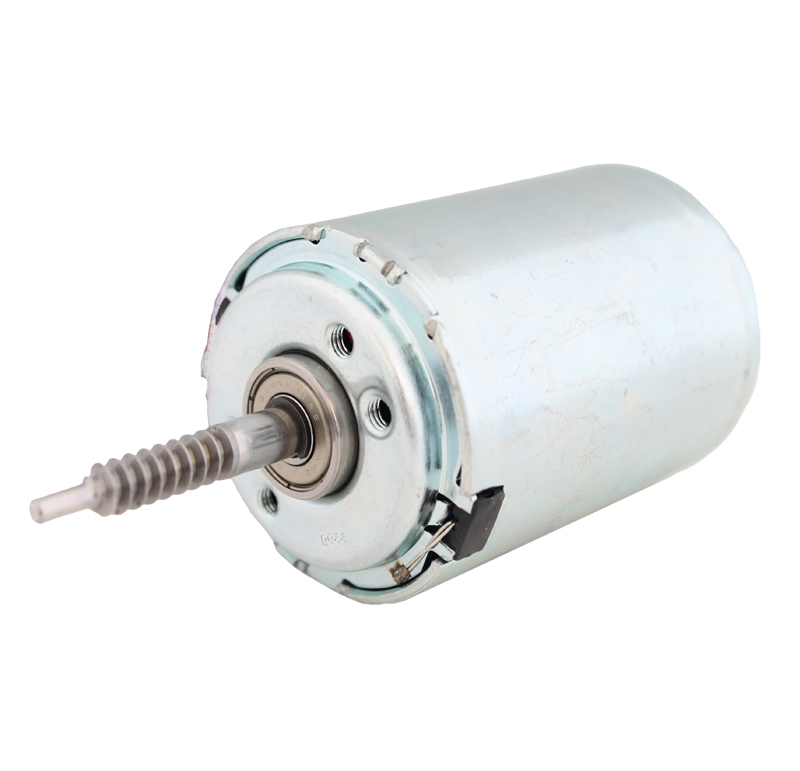 Motor Corriente DC, Voltaje 12V, R.P.M. 1250rpm  Datos del motor    -Voltaje nominal: 12 V   -Velocidad vacío: 1250 rpm   -Corriente vacío: 0,3A   -Velocidad. Max.Rend.: 1007 rpm   -Corriente Max. Rend: 1,25 A   -Par Max. Rend.: 756 g*cm   -Corriente bloqueo: 5,2 A   -Par bloqueo: 3900 g*cm  Datos del sinfín   - Z 1 módulo 0,8   - Diámetro externo: 7,90 mm   - Altura total: 23 mm   -Paso de hélice: 2,513   -Ángulo β : 15º   -Sentido de hélice: izquierdas