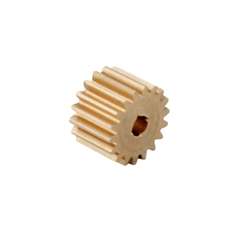 Piñón de metal Módulo 0.300, Dientes 18Z, Forma recto