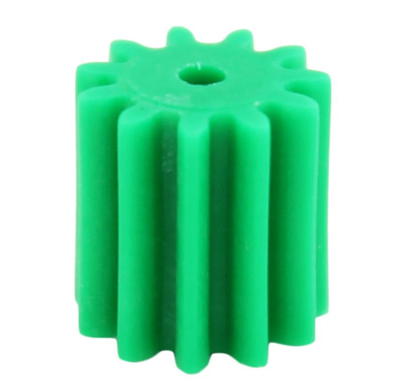 Piñón de plástico Módulo 0.750, Dientes 11Z, Forma recto