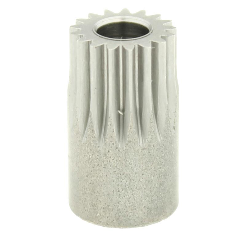 Piñón de metal Módulo 0.500, Dientes 17Z, Forma recto