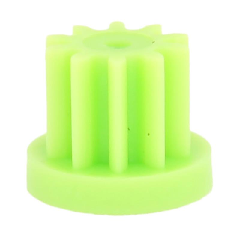 Piñón de plástico Módulo 1.000, Dientes 10Z, Forma recto