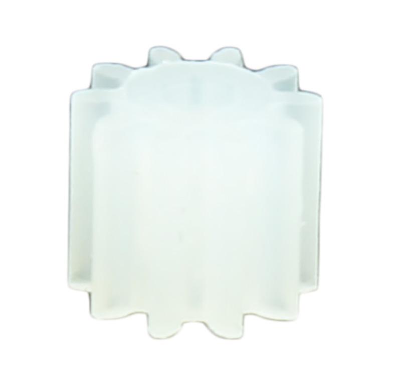 Piñón de plástico Módulo 0.500, Dientes 10Z, Forma recto