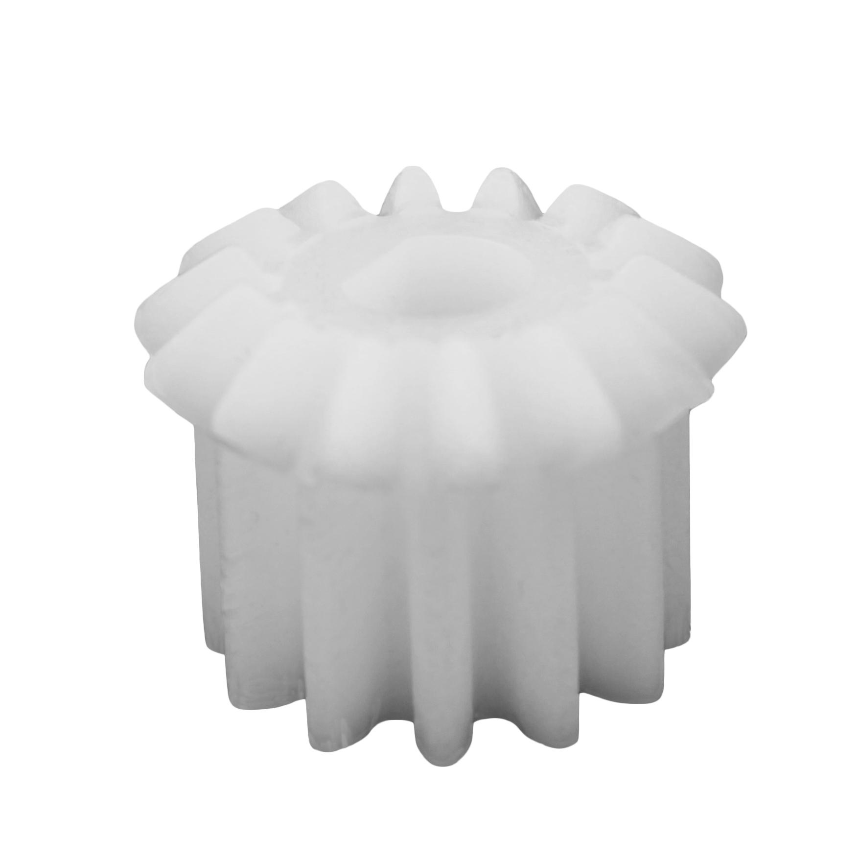 Piñón de plástico Módulo 1.500, Dientes 12Z, Forma recto