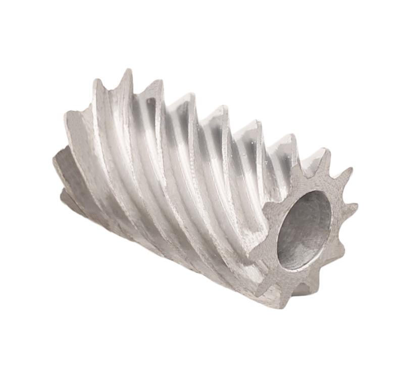 Piñón de metal Módulo 0,800, Dientes 10Z, Forma helicoidal