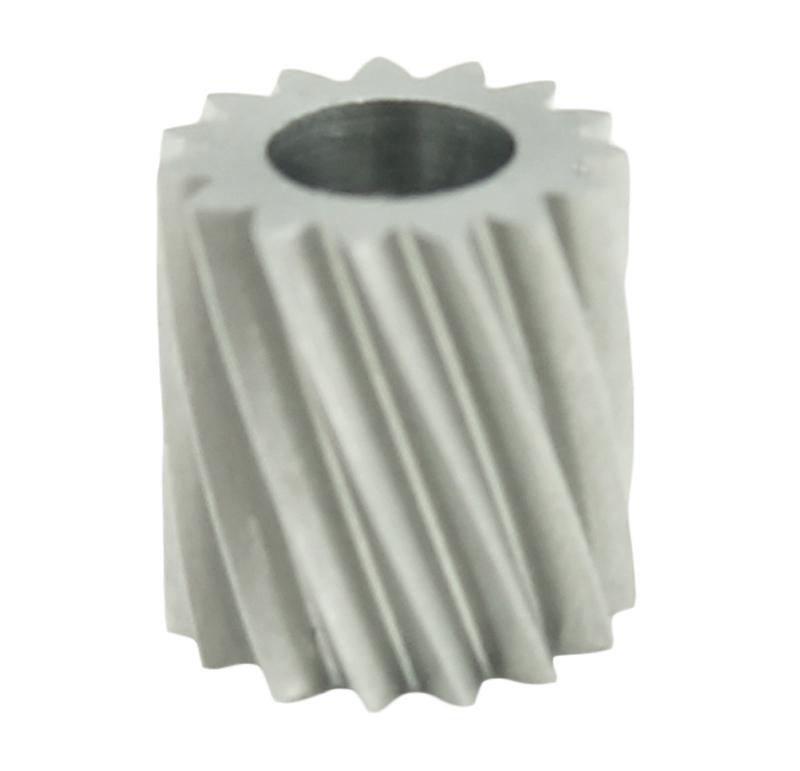 Piñón de metal Módulo 0,400, Dientes 15Z, Forma helicoidal