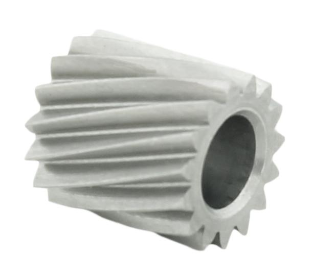 Piñón de metal Módulo 0.400, Dientes 15Z, Forma helicoidal