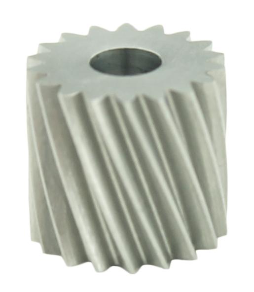 Piñón de metal Módulo 0.400, Dientes 18Z, Forma helicoidal