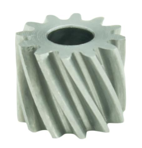 Piñón de metal Módulo 0,500, Dientes 12Z, Forma helicoidal