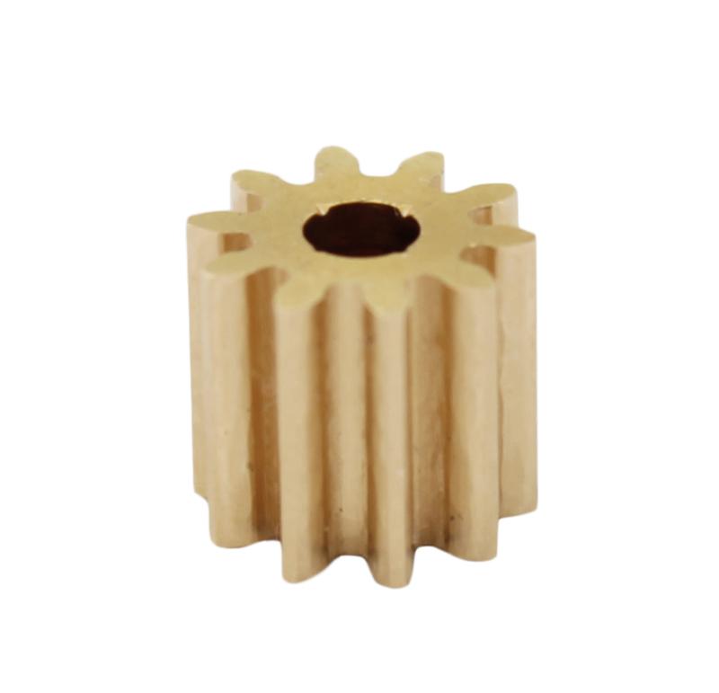 Piñón de metal Módulo 0.750, Dientes 10Z, Forma recto