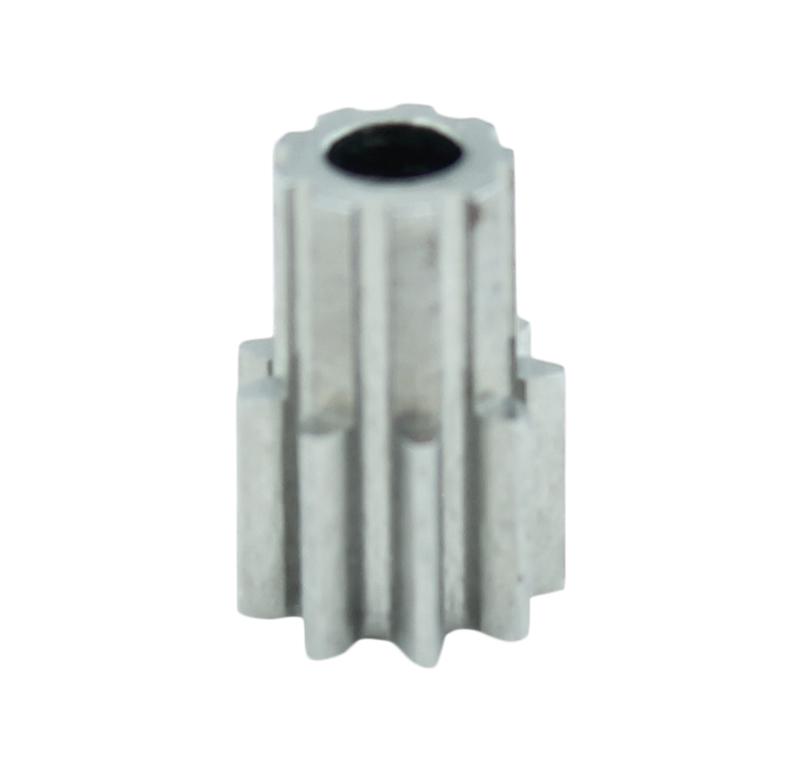 Piñón de metal Módulo 0.500, Dientes 9Z, Forma recto
