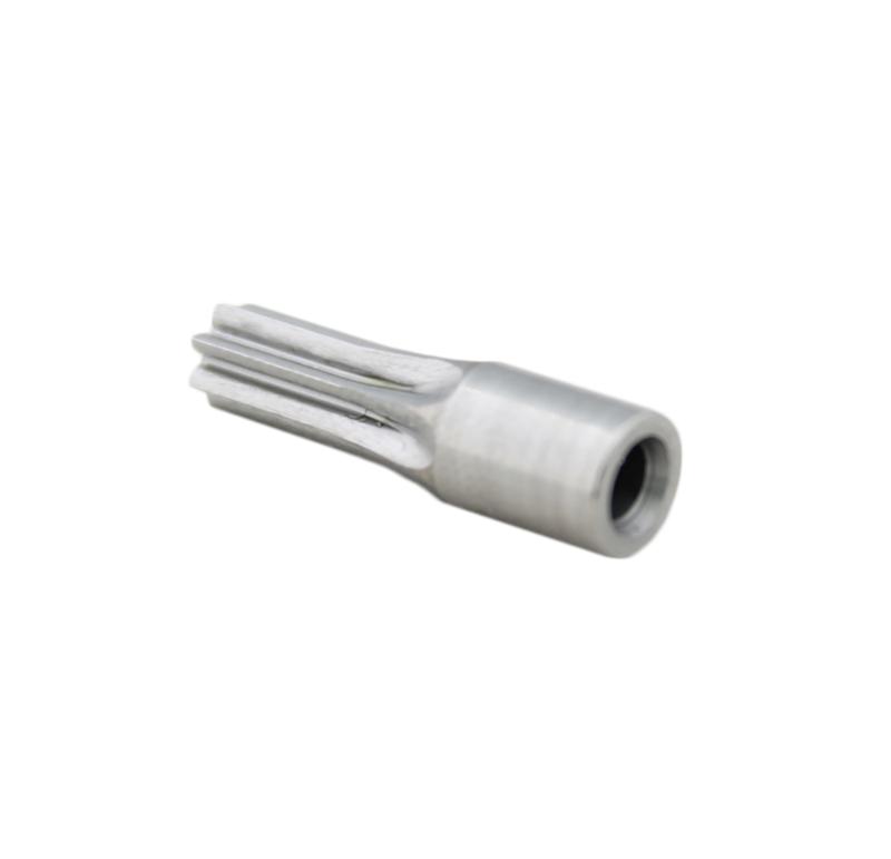 Piñón de metal Módulo 0.500, Dientes 7Z, Forma recto