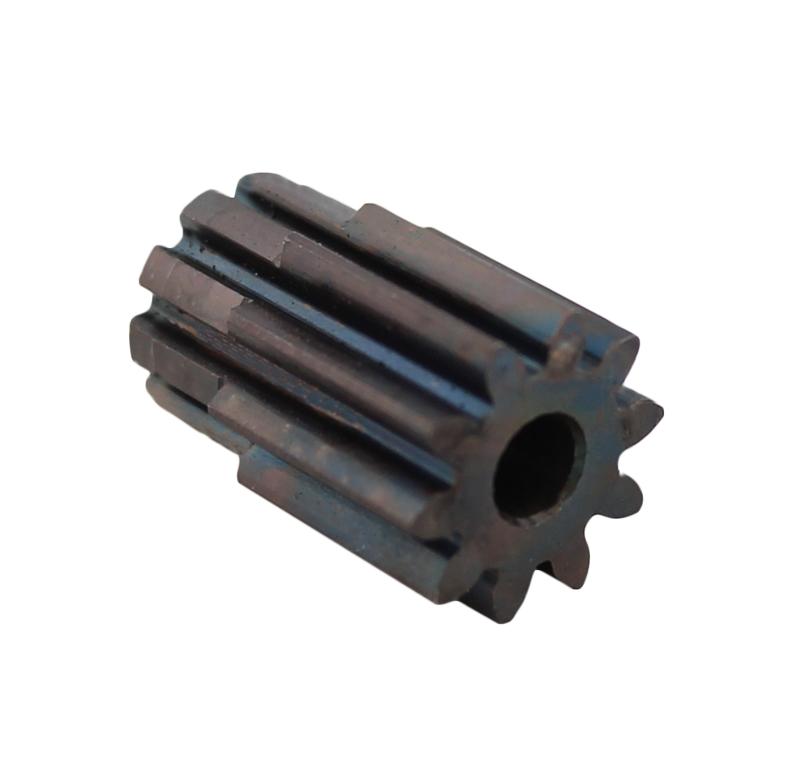 Piñón de metal Módulo 1,000, Dientes 10Z, Forma recto
