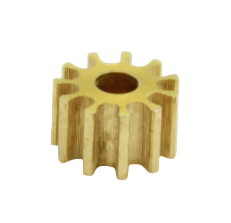 Piñón de metal Módulo 0,500, Dientes 11Z, Forma recto